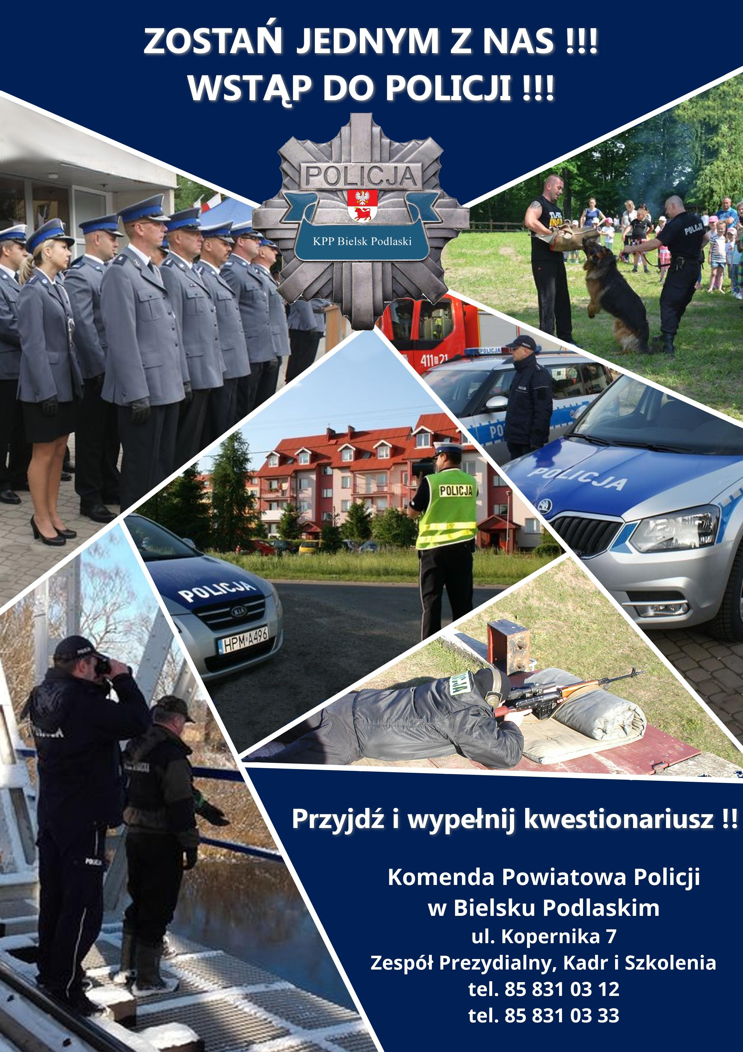 Rekrutacja Do Pracy W Policji Aktualności Informacje Urząd